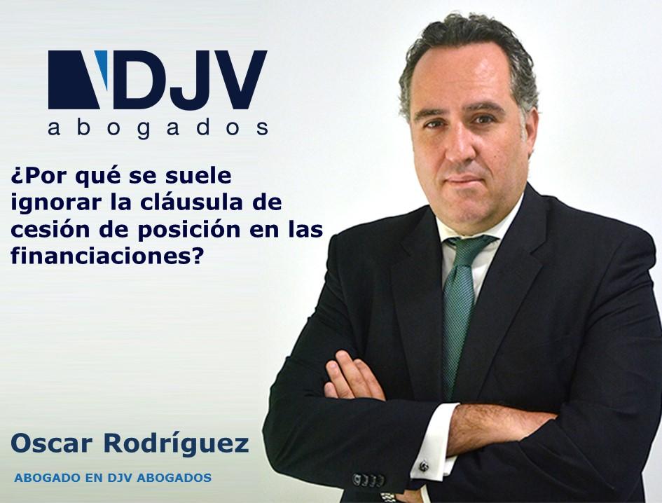 Oscar Clausula Cesion Posicion Financiaciones