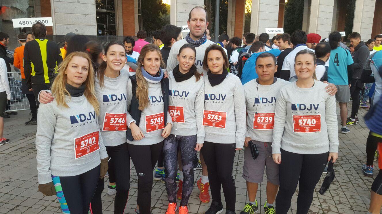 DJV Abogados Participa En La XVII Edición De La Carrera De Las Empresas