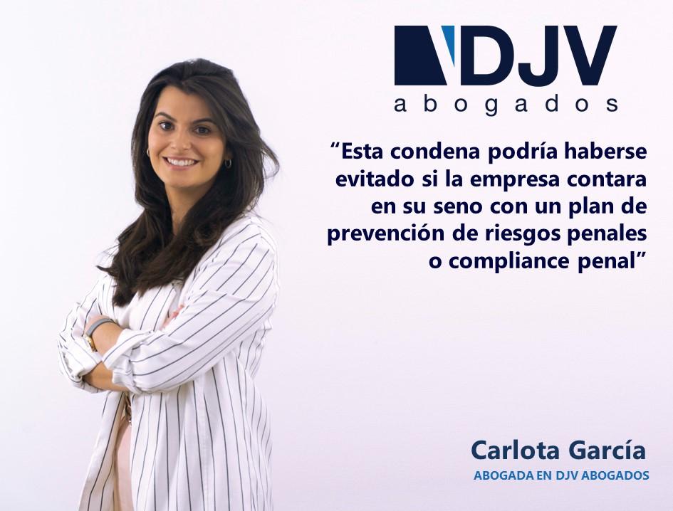 Carlota García Compliance