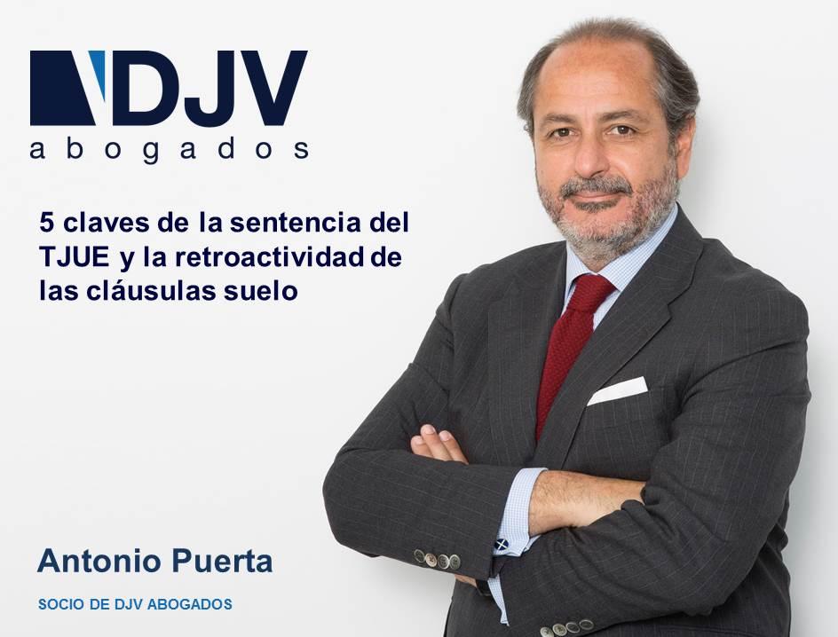 Antonio Puerta TJUE Clausulas Suelo