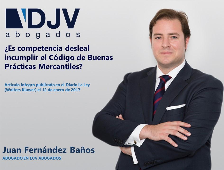 Codigo Competencia Desleal Juan F Baños