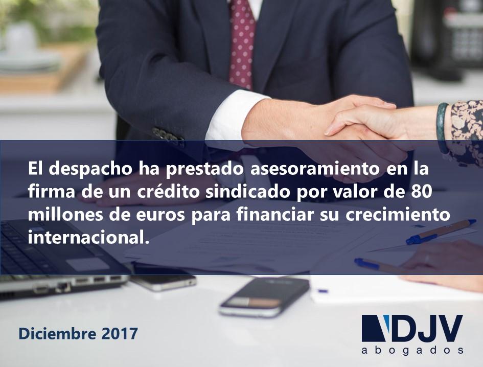 DJV Abogados Asesora A Cerealto En La Firma Un Crédito Sindicado Para Financiar Su Crecimiento Internacional