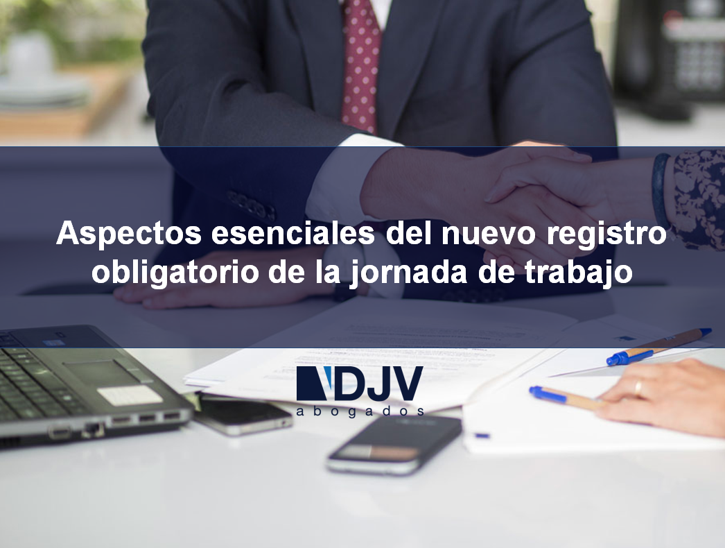 registro obligatorio de jornada