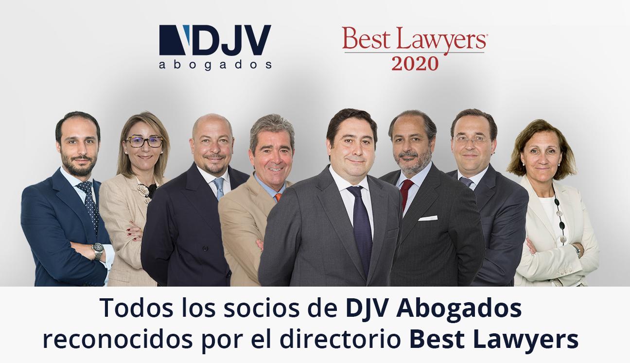 Los Ocho Socios De DJV Abogados, Destacados En El Prestigioso Ranking De Best Lawyers