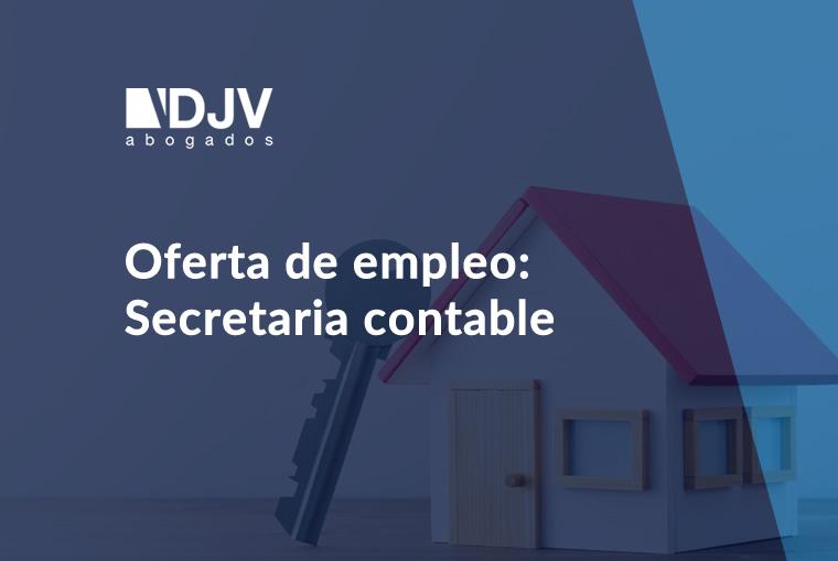 Oferta De Empleo: Secretaria Contable